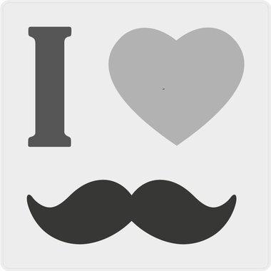 Movember stickers