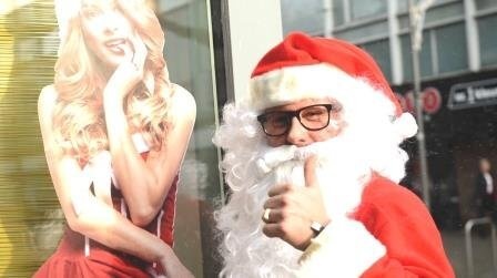 Mr and Mrs Santa Claus XXL