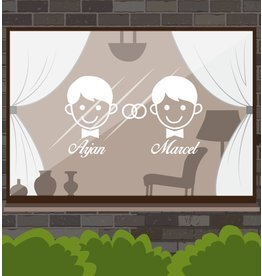 Anniversary - Man & man with rings