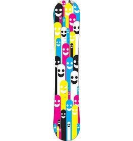 Cmyk figures snowboard Sticker