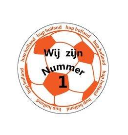 orange sticker 10