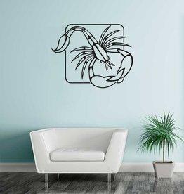 scorpion zodiac sticker 1
