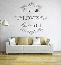 Wall Sticker lounge text 3