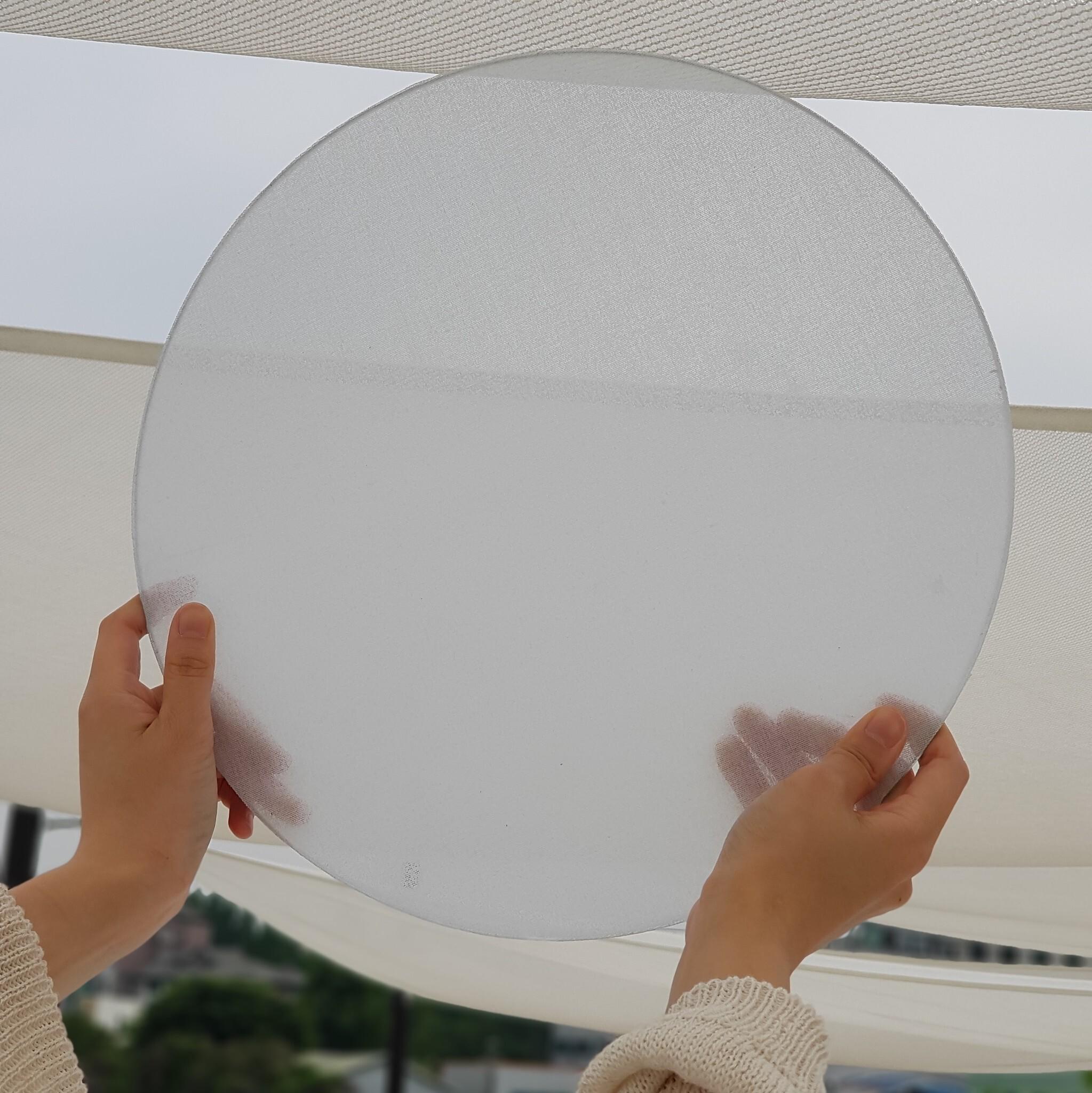 Veilish adhesive net curtains