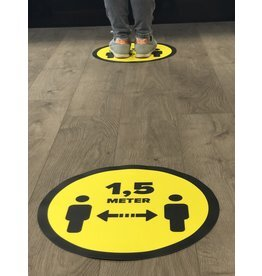 Store floor sticker distance 1.5 Meter (From 1 piece)