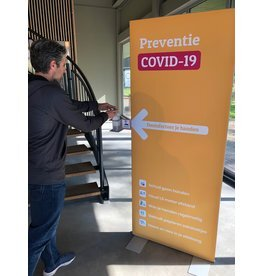 Disinfection display prevention covid 19