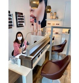 Nail studio safety screen set price