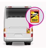 Blind Spot Bus Sticker (17 x 25 cm) (Price = incl. VAT)