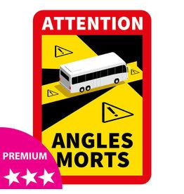 Blind spot - Bus PREMIUM Sticker (17 x 25 cm)