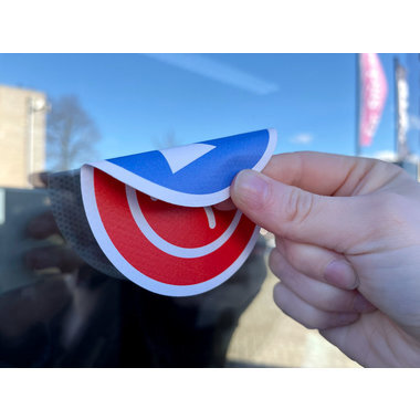 Double-sided stickers