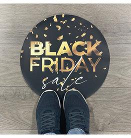 Blackfriday floor sticker